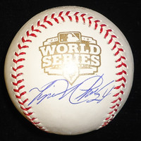 Miguel Cabrera Autographed 2012 World Series Baseball