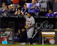 Miguel Cabrera Autographed Detroit Tigers 8x10 Photo #5 - Triple Crown Tip of the Cap