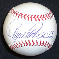 Lance Parrish Autographed Baseball - Official Major League Ball