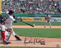 Jhonny Peralta Autographed Detroit Tigers 16x20 Photo #1 - Home Batting