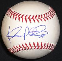 Jhonny Peralta Autographed Baseball - Official Major League Ball