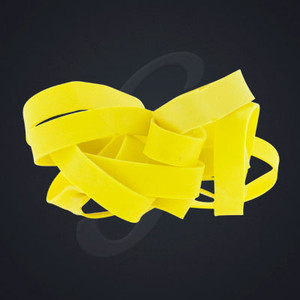12 pack of Yellow Classic Grand Band replacement rubber bands