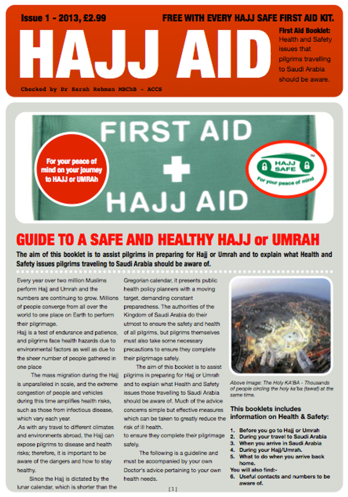 Hajj & Umrah - Health And Safety Guide