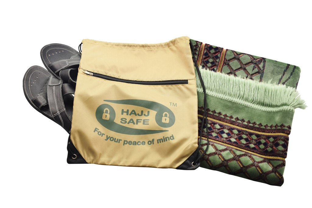Hajj & Umrah Shoe + Prayer Mat Bag