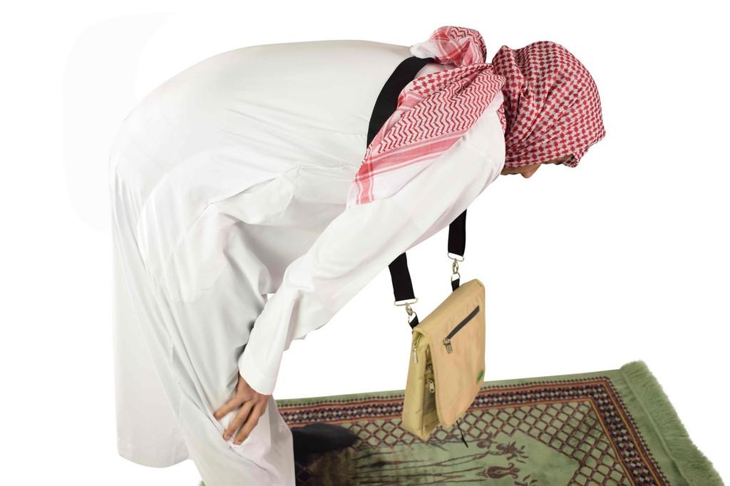 Dangling during prayer