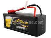 Gens Tattu Plus 10000mAh 22.2V 25C 6S1P Lipo Smart Battery Pack With AS150+XT150 Plug