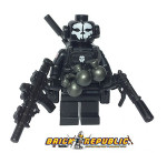 Brick Republic Custom Minifigure - Ghost Leader