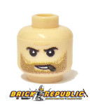 - Custom Printed Lego Minifigure Head - Flesh Cigar Head