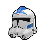 Fives White Trooper Helmet
