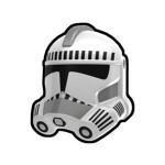 Security White Trooper Helmet
