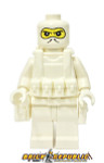 Brick Republic Custom Minifigure - Swat White Balaclava