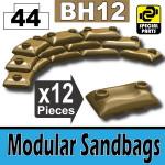 Modular Sandbags (BH12) - Dark Tan