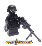 Brick Republic Custom Minifigure Swat Rifleman