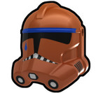 TP Dark Orange Trooper Helmet