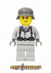 Brick Republic Custom Minifigure WWII German Rifleman