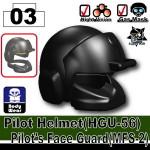 Pilot Helmet(HGU-56)+(MFS-2)