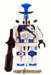 Brick Republic Custom Minifigure 501st Airborne Trooper