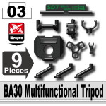 BA30 Multifunctional Tripod