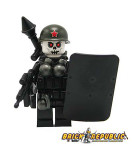 "Brick Republic Custom Minifigure ""Skeleton Soldier"""
