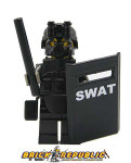 Brick Republic Custom Minifigure Swat Riot
