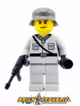 Brick Republic Custom Minifigure WWII German Heer Soldier