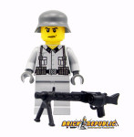 Brick Republic Custom Minifigure WWII German SS Soldier