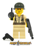 Brick Republic Custom Minifigure WWII US Marine Soldier