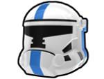 HVC Combat Helmet with Blue Stripe