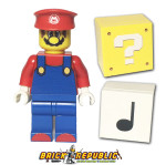 Brick Republic Custom Minifigure - Mario