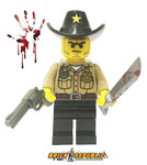 Brick Republic Custom Minifigure - Zombie Killer