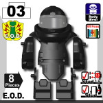 E.O.D Explosive Ordnance Disposal Suit