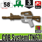 SI-DAN Deep Bronze Brown CQB System (TN67)