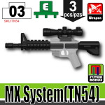 SI-DAN Black MX System (TN54)