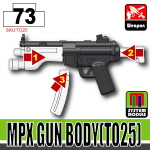 SI-DAN Black MPX Gun Body (TO25)