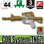 SI-DAN Dark Tan CQB System (TN67)