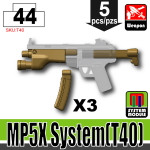 SI-DAN Dark Tan MP5X System(T40)