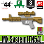 SI-DAN Dark Tan MX System (TN54)