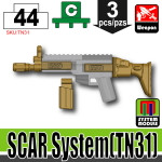 SI-DAN Dark Tan SCAR System (TN31)