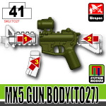 SI-DAN Tank Green MX5 Gun Body (TO27)