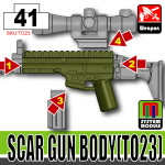 SI-DAN Tank Green SCAR Gun Body (TO23)