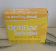 Optibac Probiotics For Travelling Abroad - 20 veggie capsules