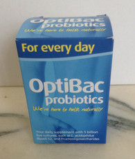 OptiBac Probiotics for Every Day 60 Capsules