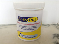 Active Pet 300g Pet Collagen. 100% Pure Collagen Hydrolysate.