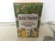 Heath & heather Green Tea with Manuka 20 tea bags.