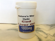 Our Own Brand Cod Liver OIl 1000mg 120 capsules.
