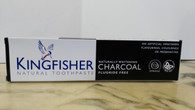 Kingfisher Charcoal Fluoride Free Natural Toothpaste 100ml