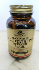 Maximised L- Glutathione Reduced 250mg 60 veg caps, suitable for vegans.