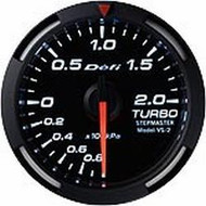 Defi White Racer Boost Gauge
