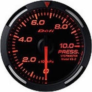 Defi Red Racer Press Gauge
