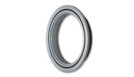 "Aluminum V-Band Flange for 3"" O.D. Tubing (Single Flange)"